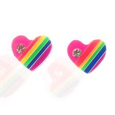 Heart Resin Costume Earrings