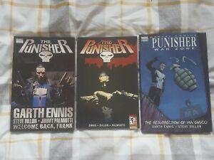 Punisher Graphic Novel bundle
