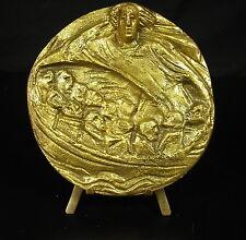 Médaille La Cène L'Ultima Cena Le Christ Jésus et ses 12 apôtres apostles Medal