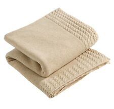 Christy Wentworth Lambs Wool 50 X 70 Throw In Camel Colourway