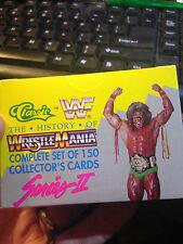 WWF WWE Classic Wrestling The History Of Wrestle Mania Series II case 24 packs!