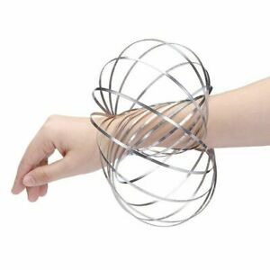 TWIST MOVER COIL SPRING STRESS FIDGET MAGIC KINETIC FLOW RING GADGET TOY GIFT