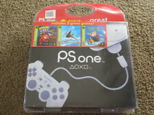 NEW Sony PSOne Console w/ 3 Games Blister Pack Bundle PS1 PSX System PS One Mini