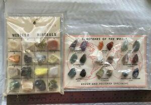 CBR:  2 Vintage  Mineral Specimen Collections