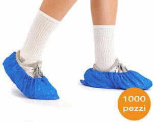 1000 Stücke Überschuhe Wegwerf Schuhe Wasserdicht USA Und Wirft Polyethylen Blau
