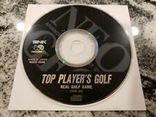 Top Players Golf Neo Geo CD US Version Disc Only
