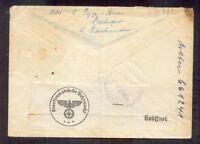 DR-3.Reich Zensurbrief from The Switzerland (R9755