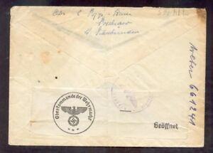 DR-3.Reich ZENSURBRIEF aus der Schweiz (R9755