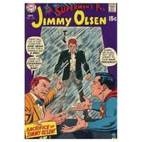 Superman's Pal Jimmy Olsen (1954 series) #123 in Fine condition. DC comics [*bi]