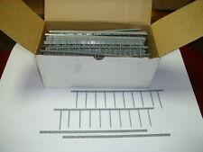 1 Caja de 100 Juegos GBC Surebind Gris Tiras de Unión 51mm para una Safe & Secure Bind