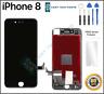 Negro IPHONE 8 Ensamblaje OEM Digitalizador LCD 3D Repuesto Pantalla Táctil