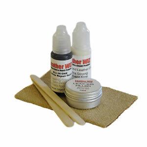 Leather Repair kit Glue Repair Kit, Rips, Tears & Holes No sewing restorer KIT