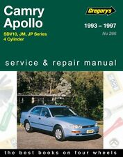 Gregory's Service Repair Manual Toyota Camry Holden Apollo JM JP 93-97 WORKSHOP