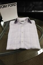 Mens TOM FORD Button Down Dress Shirt ..Size EU 41 (US16)..Auth..ITALY..$580+!
