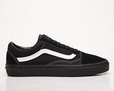 Vans Old Skool Unisex Black True White Athletic Lifestyle Shoes Casual Sneakers