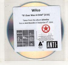 (HN566) Wilco, If I Ever Was A Child - 2016 DJ CD