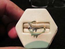 Diamond Ring Wrap Ring Guard Genuine Diamonds Brand New 14K GOLD