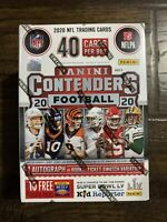 """New Sealed - 2020 Panini Contenders NFL Football Blaster Box """"Target""""- 40 Cards"""
