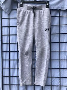 Youth Small Boys Under Armour Athletic Sweatpants Gray