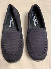 Skechers,Relaxed Fit ,Air Cooled ,Memory Foam Shoes Navy-Women's size 6