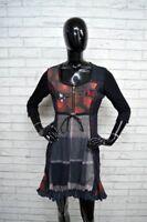 Vestito DESIGUAL Tajer Donna Woman Taglia Size 38  Abito Dress Cotone Woman
