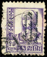 GUINÉE ESPAGNOLE / GOLFO DE GUINEA - 1939 - Yv.287/Mi.211 20c violet - Oblitéré