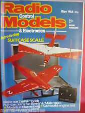 RCM&E MAY 1984 MATCHSTICK & RIVETS FULL SIZE PLANS P51D MUSTANG PAVEL BOSAK