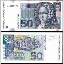 CROATIA 50 Kuna 2002 UNC P 40