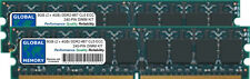 8gb (2x 4gb) DDR2 667mhz pc2-5300 240-pin ECC UDIMM SERVIDOR / Workstation RAM