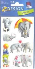 18 Sticker Lustige Elefanten Zweckform Z-Design 55799