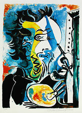 "Pablo Picasso THE ARTIST Estate Signed Stamped & Numbered Giclee 20"" x 26"""