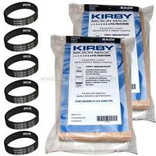 18 Kirby Vacuum Bags G3 G6 Micron Magic 197394 +6 Belts