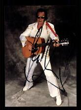 Elvis Impersonator Autogrammkarte Original Signiert ## BC 63512
