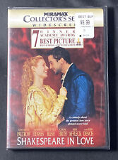 Shakespeare in Love (Dvd, 1999, Collectors Series) Brand New!