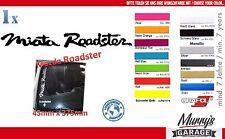Mazda Miata Roadster Aufkleber MX-5 NB NA NC ND Eunos Sticker, Autocollat, Decal
