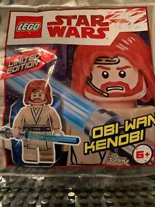 LEGO STAR WARS Limited Edition Polybag - Obi-Wan Kenobi (911839) Rare In The USA