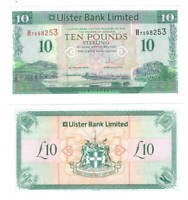 NORTHERN IRELAND Ulster Bank UNC 10 Pounds (2012) P-341b Banknote H Prefix