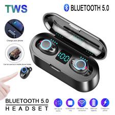 F9 TWS Wireless LED Earphone BT5.0 Mini Stereo Sports Earbuds Voice Headset MIC