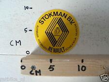 STICKER,DECAL RENAULT STOKMAN BV CAR SCHORPIOEN