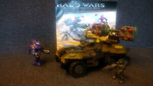 Mega Bloks Halo UNSC Wolverine set 96833, 100% complete with instructions