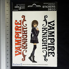 Vampire Knight sticker pack Yuki, Zero Official by ABYStyle