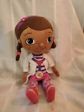 """Doc McStuffins Disney Parks Doctor Plush Stuffed Animal Doll Baby Toy 13"""" Lovey"""