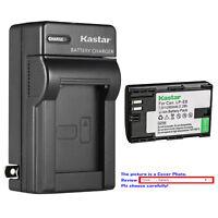 Kastar Battery AC Charger for Canon Original Genuine Battery LP-E6N LP-E6 LPE6
