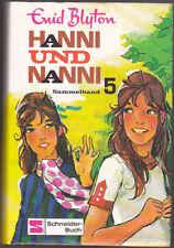 Hanni und Nanni Sammelband 5 Enid BLYTON