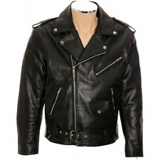 RTX Brando Classique Johnny the wild one en cuir noir perfecto xl 44 in (environ 111.76 cm) EU54