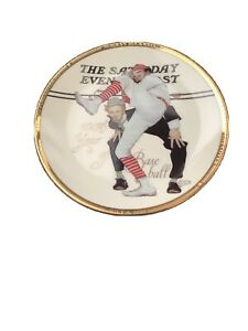 """Sports Impressions """" 100th Year Of Baseball""""  4"""" Plate. Item # 2000-02"""