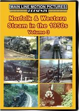Norfolk & Western Steam in the 1950s Vol 3 DVD N&W Heavy Freight S-1 Class 611