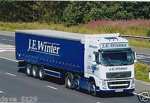 Truck Photo: J. E. Winter Haulage - Volvo FH - PX10 DHO - Crook County Durham