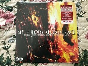 My Chemical Romance I BROUGHT YOU MY BULLETS Vinyl Record Hot Topic R/W Vinyl