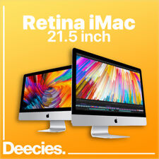 "21-inch Apple iMac Retina 4k 3.6Ghz Quad i3 8GB Ram 512GB SSD 555X 21.5"" Mac"